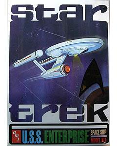 AMT 1/650スケール STAR TREK U.S.S. ENTERPRISE NCC-1701 組み立て式プラモデル