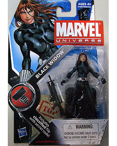HASBRO MARVEL UNIVERSE SERIES 2 #011 BLACK WIDOW 台紙傷み特価