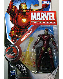 HASBRO MARVEL UNIVERSE SERIES 2 #007 IRON MAN