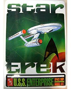 AMT 1/650スケール STAR TREK U.S.S. ENTERPRISE NCC-1701 組み立て式プラモデル 限定パッケージ