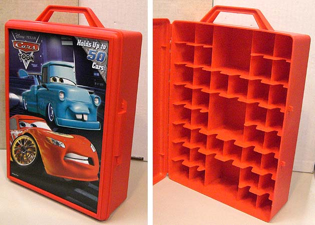 TARA TOYS CARS CARS TOON CARRYING CASE [TOKYO MATER]