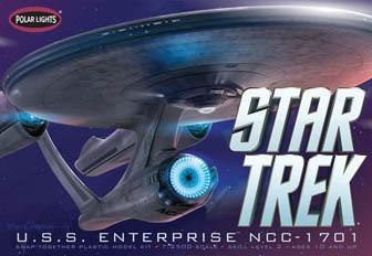POLAR LIGHTS 1/2500スケール STAR TREK [2009] NEW U.S.S. ENTERPRISE NCC-1701 2009年 映画版スタートレック エンタープライズ 組み立て式プラモデル