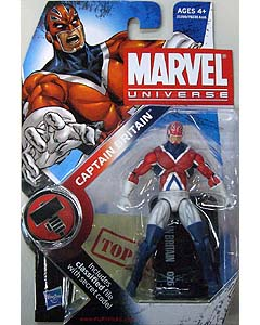 HASBRO MARVEL UNIVERSE SERIES 2 #026 CAPTAIN BRITAIN