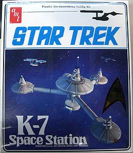 AMT STAR TREK K-7 SPACE STATION 組み立て式プラモデル