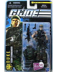 HASBRO G.I.JOE THE PURSUIT OF COBRA シングル DUKE [TEAM COMMANDER] NO.1001