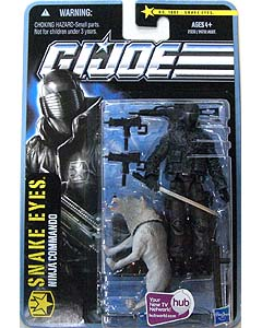 HASBRO G.I.JOE THE PURSUIT OF COBRA シングル SNAKE EYES [NINJA COMMANDO] NO.1002