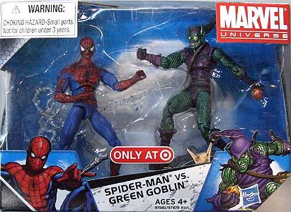HASBRO MARVEL UNIVERSE USA TARGET限定 2PACK #003 SPIDER-MAN VS. GREEN GOBLIN