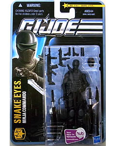 HASBRO G.I.JOE THE PURSUIT OF COBRA シングル SNAKE EYES [NINJA COMMANDO] NO.1101