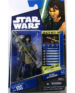 HASBRO STAR WARS THE CLONE WARS BASIC FIGURE QUINLAN VOS