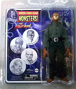 DIAMOND SELECT UNIVERSAL MONSTERS RETRO CLOTH ACTION FIGURE THE WOLFMAN