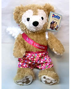 DISNEY USAディズニーテーマパーク限定 DUFFY THE DISNEY BEAR 12INCH VALENTINE DUFFY