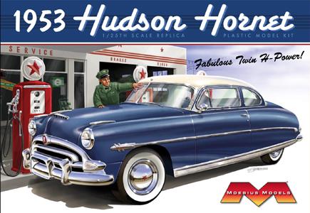 メビウスモデル 1/25スケール 1953 ハドソンホーネット 組み立て式プラモデル
