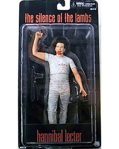 NECA CULT CLASSICS ICONS 3 THE SILENCE OF THE LAMBS HANNIBAL LECTER [WHITE OUTFIT] 台紙傷み特価