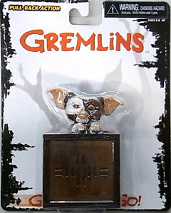 NECA GREMLINS GO GISMO GO PULL BACK ACTION FIGURE GIZMO [IN GIFT BOX]