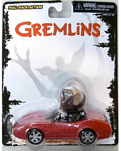 NECA GREMLINS GO GISMO GO PULL BACK ACTION FIGURE GIZMO[IN CONVERTIBLE] 台紙傷み特価