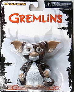 NECA GREMLINS GO GISMO GO PULL BACK ACTION FIGURE GIZMO[STANDING] 台紙傷み特価