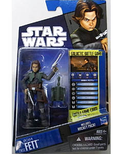 HASBRO STAR WARS THE CLONE WARS BASIC FIGURE BOBA FETT