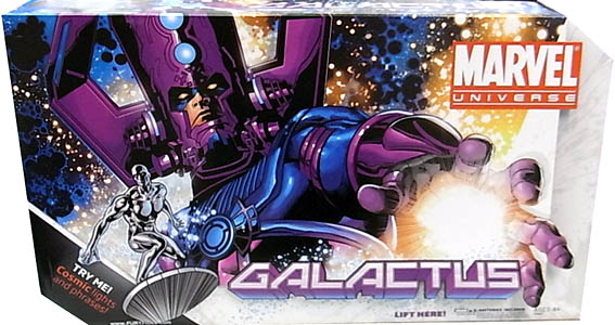 HASBRO MARVEL UNIVERSE 19インチ GALACTUS WITH SILVER SURFER [VARIANT]