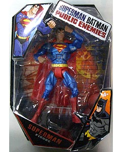 MATTEL SUPERMAN BATMAN PUBLIC ENEMIES SUPERMAN [METALLIC]