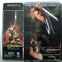 NECA CONAN THE BARBARIAN シリーズ 3 TEMPLE OF THE SERPENT CONAN