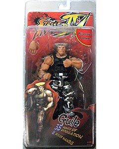 NECA STREET FIGHTER IV SURVIVAL COLORS SERIES 1 GUILE