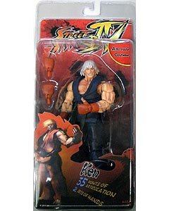 NECA STREET FIGHTER IV SURVIVAL COLORS SERIES 1 KEN