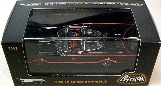 マテル ホットウィール 1/43スケール 1966年 TV版 バットモービル ダイキャストミニカー エリート版