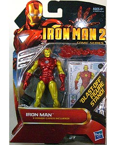 HASBRO 映画版 IRON MAN 2 3.75インチ COMIC SERIES CLASSIC ARMOR IRON MAN