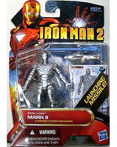 HASBRO 映画版 IRON MAN 2 3.75インチ MOVIE SERIES IRON MAN MARK II 台紙傷み特価