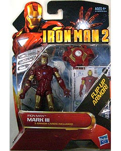 HASBRO 映画版 IRON MAN 2 3.75インチ MOVIE SERIES IRON MAN MARK III 台紙傷み特価