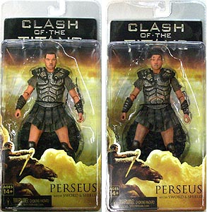NECA CLASH OF THE TITANS PERSEUS WITH SWORD & SHIELD 2種セット