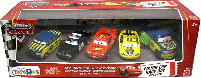 THE WORLD OF CARS USA TOYSRUS限定 PISTON CUP RACE DAY GIFT PACK