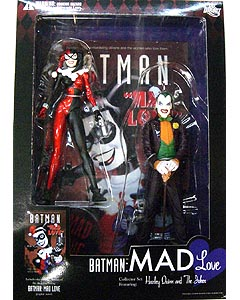 DC DIRECT BATMAN MAD LOVE COLLECTOR SET