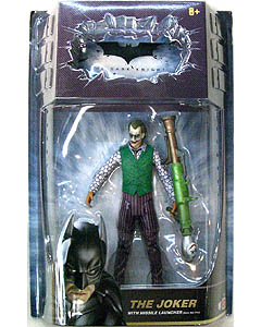 MATTEL BATMAN THE DARK KNIGHT オンライン限定 6インチ JOKER WITH MISSILE LAUNCHER ブリスター傷み特価