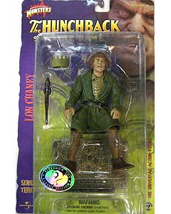 SIDESHOW 8インチ アクションフィギュア SERIES 3 THE HUNCHBACK OF NORTRE DAME QUASIMODO : LON CHANEY