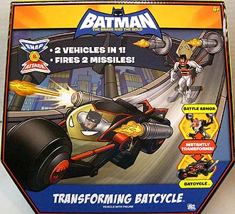 MATTEL BATMAN THE BRAVE AND THE BOLD TRANSFORMING BATCYCLE