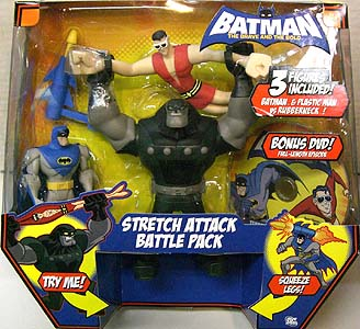 MATTEL BATMAN THE BRAVE AND THE BOLD STRETCH ATTACK BATTLE PACK