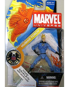 HASBRO MARVEL UNIVERSE SERIES 1 #011 HUMAN TORCH [FANTASTIC FOUR COSTUME]