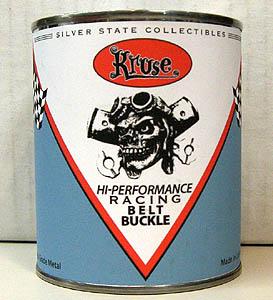 ROB KRUSE ACE BOMBER ピューター製 ベルトバックル