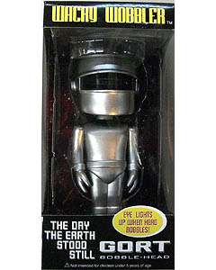 FUNKO WACKY WOBBLER THE DAY THE EARTH STOOD STILL GORT BOBBLE HEAD