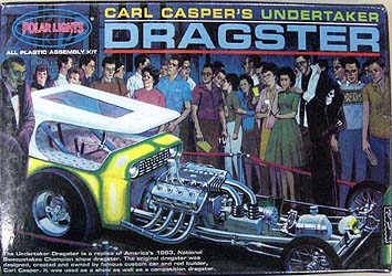 POLAR LIGHTS CARL CASPER'S UNDERTAKER DRAGSTER