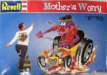REVELL ED ROTH MOTHER'S WORRY 組み立て式プラモデル