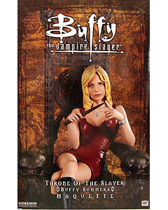 SIDESHOW THRONE OF THE SLAYER BUFFY SUMMERS STATUE