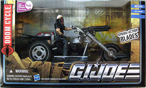 HASBRO G.I.JOE THE PURSUIT OF COBRA ビークル DOOM CYCLE WITH STORM RIDER