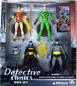 DC DIRECT DETECTIVE COMICS BOX SET