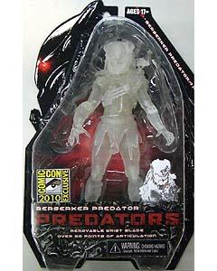 2010年サンディエゴ コミコン限定 NECA PREDATORS 7インチアクションフィギュア BERSERKER PREDATOR CLOAK ver.