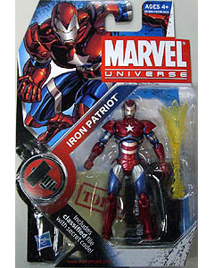 HASBRO MARVEL UNIVERSE SERIES 2 #019 IRON PATRIOT ブリスター&台紙傷み特価