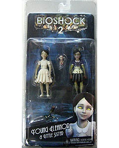 NECA PLAYER SELECT BIOSHOCK 2 7インチフィギュア SERIES 2 YOUNG ELEANOR & LITTLE SISTER