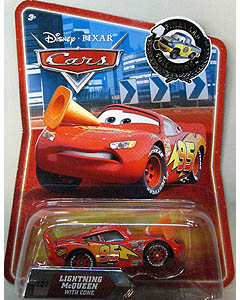 CARS FINAL LAP COLLECTION LIGHTNING McQUEEN WITH CONE