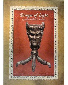 BRINGER OF LIGHT キャンドルホルダー